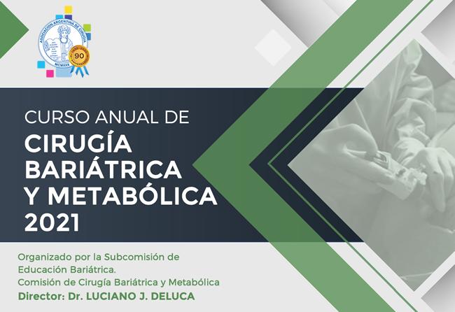 Curso anual de cirugía bariátrica y metabólica