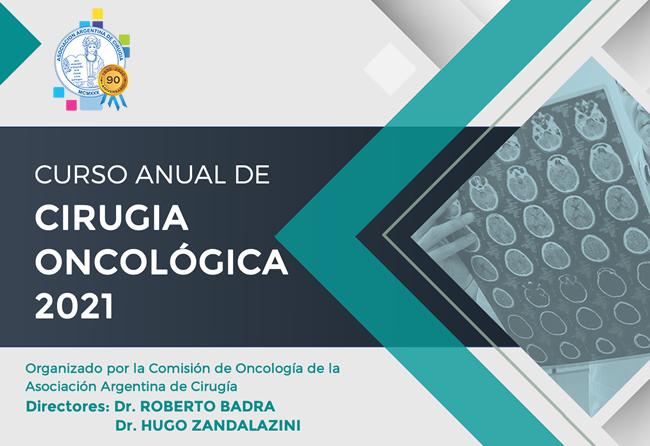Curso anual de cirugía oncológica